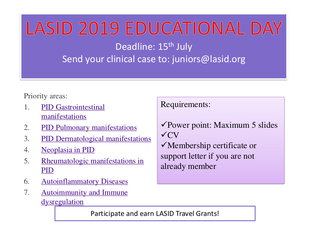 Deadline: 15 th July
