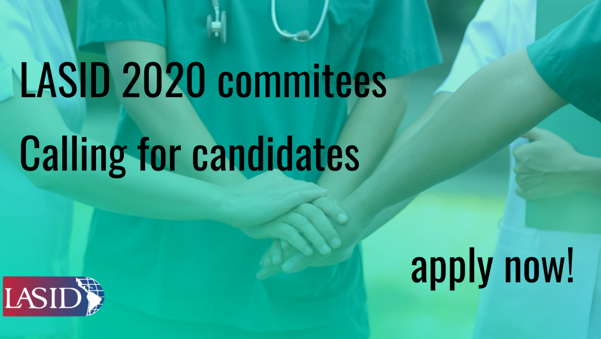 LASID Committees 2020. Calling for candidates.